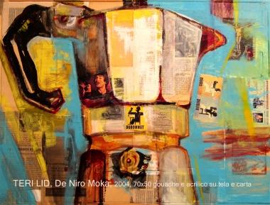 teri lid coffee pot caffettiera moka light blue bialetti love art teri lid terilid artwork de niro moka 2004