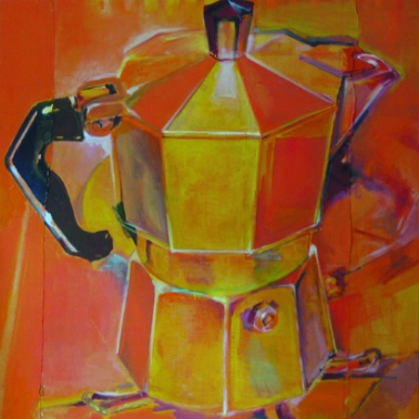 moka orange caffettiera yellow Teri LID