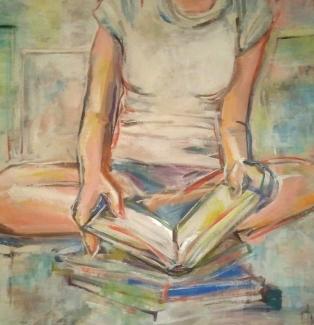 Reading books, Teri lid 2013