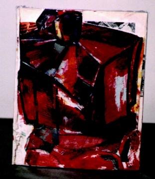 Red Moka, Teri LID, Book art, 2002