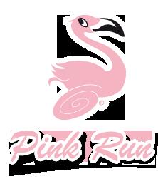 Pink Run logo by Teri Lid