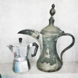 maria teresa santinato teri lid coffee pot family coffee time teri lid
