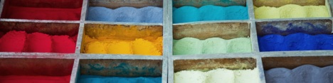 Pigments pigmenti dal zio due catini drogheria