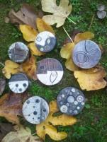 Teri Lid p.d.a. prova d' artista ceramica raku presio sotto il portico wigwam