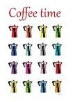 blog Teri Lid Coffee time rainbow moka caffettiera Bialetti arcobaleno