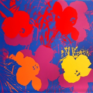 Warhol Flowers Shadows Moca Los Angeles