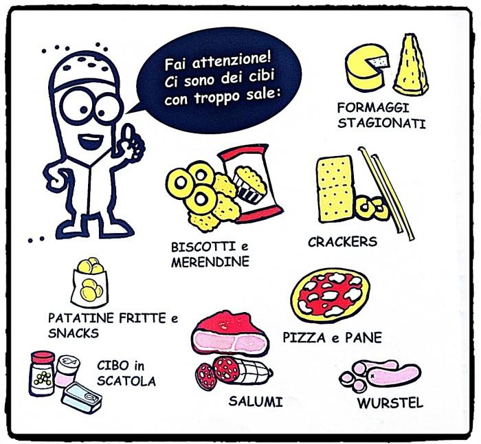 alimenti troppo sale dose eccessiva dannosi salute illustrazione Teri Lid Maria Teresa Santinato.jpg